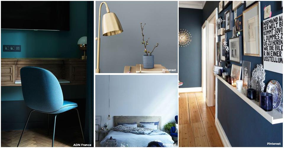 Tendance d co teintez votre int rieur en bleu l 39 officieux for Decoration interieur solde