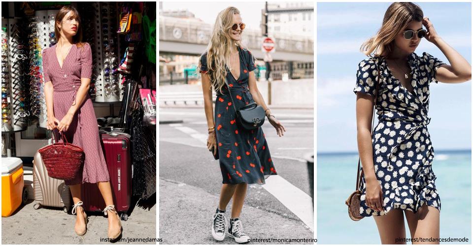 18 robes portefeuille qui flatteront toutes les morphologies