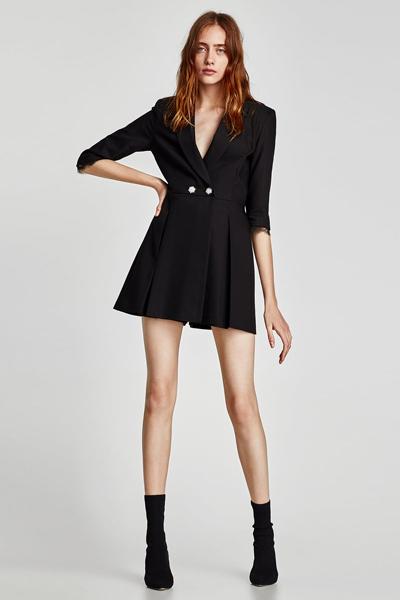 blazer noire pour femme
